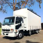 Fuso Fighter 1024 Man. Tautliner 2 Years Free Servicing*