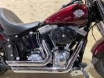 2013 Harley-davidson FLS SOFTAIL SLIM MYS RED
