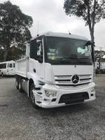2019 MERCEDES-BENZ ACTROS TIPPER-PRICED TO CLEAR null null White