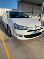 2008 Citroen C5 Exclusive HDi X7 White