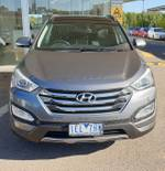 2015 Hyundai Santa Fe Highlander DM2 MY15 4X4 On Demand Silver
