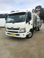 Hino 300 Series 616 Medium Auto Alloy Tipper With Tool BOX