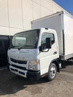 2020 FUSO CANTER CAR LICENCE PAN PANTECH SAFETY PACK TUCKAWAY TAILGATE null null White