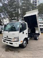 2020 HINO 300 SERIES 717 TIPPER - NEW MODEL null null White