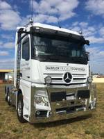 2020 MERCEDES-BENZ 2663 STREAM SPACE 2.5 WIDE FLAT FLOOR null null White