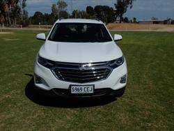 2019 Holden Equinox LTZ EQ MY18 Four Wheel Drive Summit White