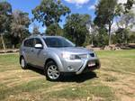 2007 Mitsubishi Outlander LS ZG MY07 4X4 On Demand Silver