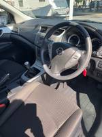 2013 Nissan Pulsar ST C12 POLAR WHITE