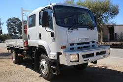 Isuzu FSS550  4X4 With Crane