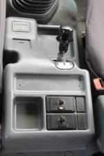 2012 Isuzu FSS550 Crew Tray With Crane White