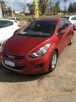 2013 Hyundai Elantra Active MD2 Red