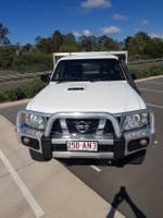 2008 Nissan Patrol DX GU 6 MY08 4X4 Dual Range White