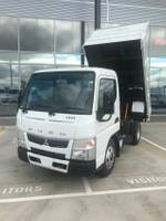 2020 FUSO CANTER 615 CITY CAB FACTORY TIPPER WHITE