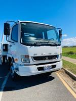 2021 Fuso Fighter 1427 Sliding Tilt Tray White