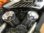 2021 Indian 2021 INDIAN 1100CC SCOUT BOBBER TWENTY THUNDER BL CRUISER Black