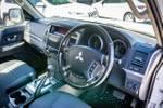 2019 Mitsubishi Pajero GLX NX MY20 4X4 Dual Range White