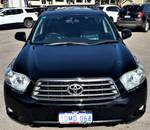 2009 Toyota Kluger KX-S GSU45R Four Wheel Drive Black