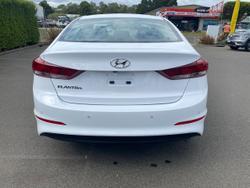 2017 Hyundai Elantra Elite AD MY18 White