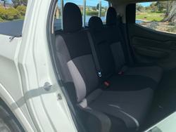 2016 Mitsubishi Triton GLX MQ MY16 White