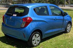 2017 Holden Spark LS MP MY17 Blue