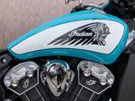 2021 Indian SCOUT Blue