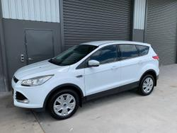 2016 Ford Kuga Ambiente TF MkII MY16 White