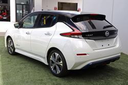 2020 Nissan LEAF ZE1 White