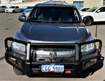 2015 Holden Colorado LS RG MY16 4X4 Dual Range Satin Steel Grey