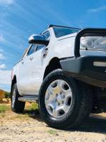 2017 Ford Ranger XLT PX MkII 4X4 Dual Range WHITE