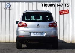 2009 Volkswagen Tiguan 147TSI 5N MY10 Four Wheel Drive Silver