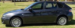 2009 Subaru Impreza R G3 MY09 Four Wheel Drive Black