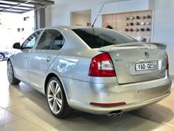 2009 SKODA Octavia RS 1Z MY10 Silver