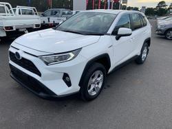 2019 Toyota RAV4 GX AXAH54R 4X4 On Demand White