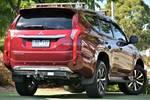2017 Mitsubishi Pajero Sport Exceed QE MY17 4X4 Dual Range Terra Rossa
