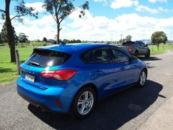 2018 Ford Focus Trend SA MY19 Blue