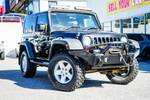 2008 Jeep Wrangler Sport JK MY08 4X4 Black