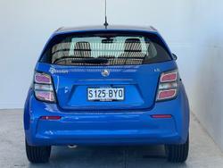 2018 Holden Barina LS TM MY18 Blue
