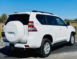 2015 Toyota Landcruiser Prado GXL GDJ150R 4X4 Dual Range White
