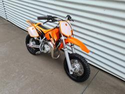 2005 KTM 50 Mini Adventure Mini Adventure Orange