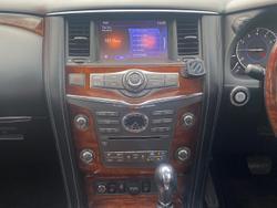 2016 INFINITI QX80 S Premium Z62 4X4 Dual Range Grey