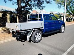 2021 Ford Ranger XLT PX MkIII MY21.25 4X4 Dual Range Lightning Blue