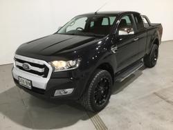 2015 Ford Ranger XLT PX MkII 4X4 Dual Range Black