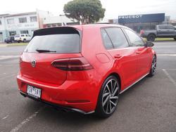 2018 Volkswagen Golf R 7.5 MY18 Four Wheel Drive Red