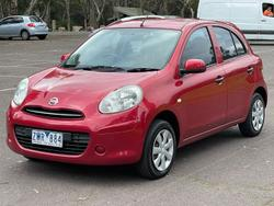 2013 Nissan Micra ST K13 MY13 Roma Red