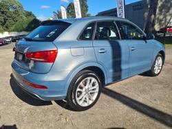2013 Audi Q3 TDI 8U MY13 Four Wheel Drive Blue