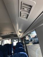2021 FUSO ROSA BUS 22 SEAT DELUXE AUTO White