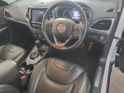 2019 Jeep Cherokee Limited KL MY19 4X4 On Demand White