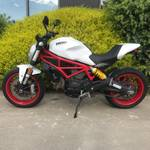 2018 DUCATI MONSTER 797 STAR WHITE-DARK ST White