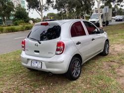 2011 Nissan Micra ST-L K13 Monaco Platinum
