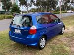 2007 Honda Jazz GLi GD Purplish Blue